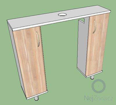 Výroba nábytku do koupelny: zachodova-skrinka