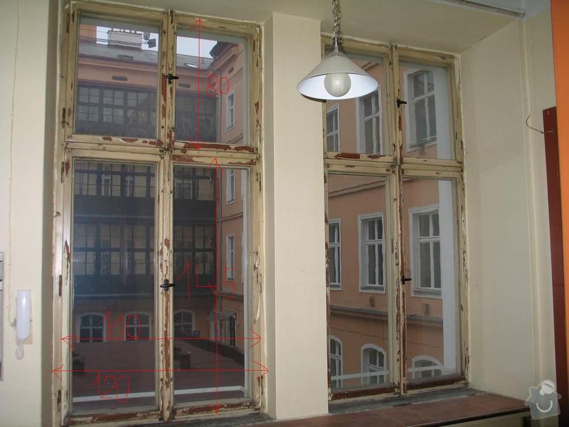 Dřevěná okna kastlová + klasická: Okno3_4_rozmery