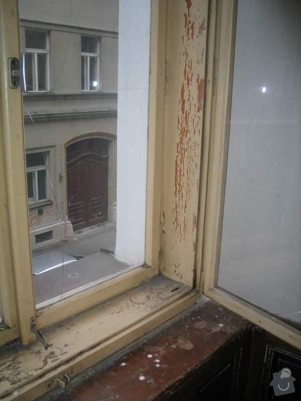 Dřevěná okna kastlová + klasická: Okno1_2_detail1