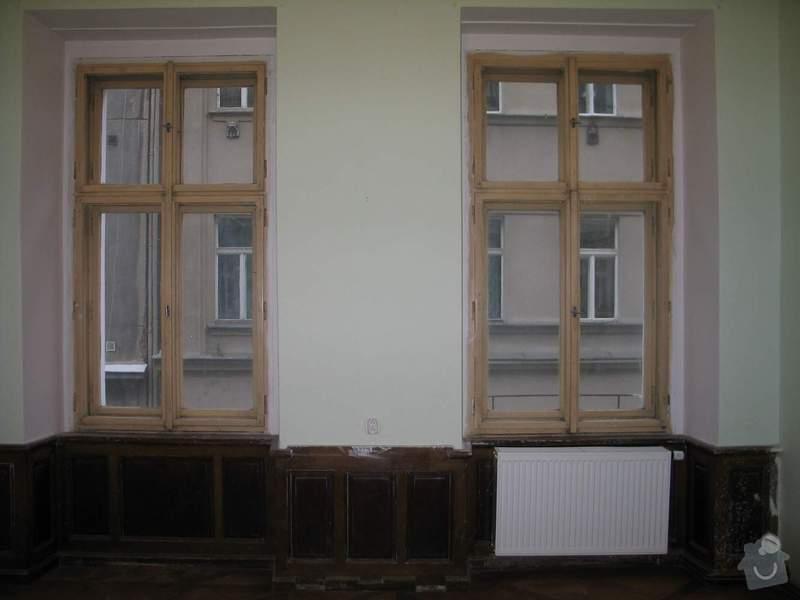 Dřevěná okna kastlová + klasická: Okna1