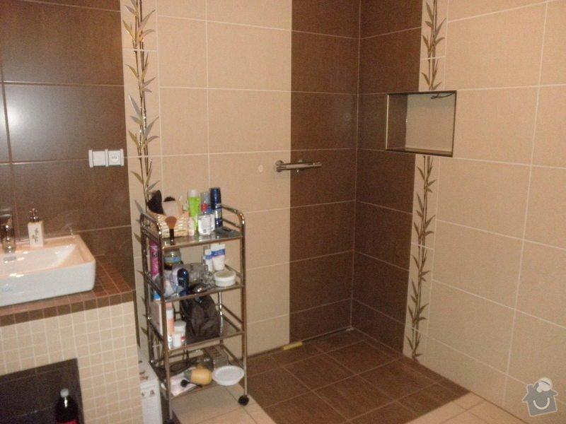 Obklad koupelny v novostavbě: P2230005