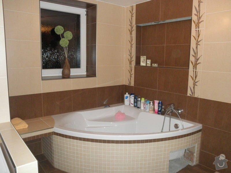 Obklad koupelny v novostavbě: P2230006