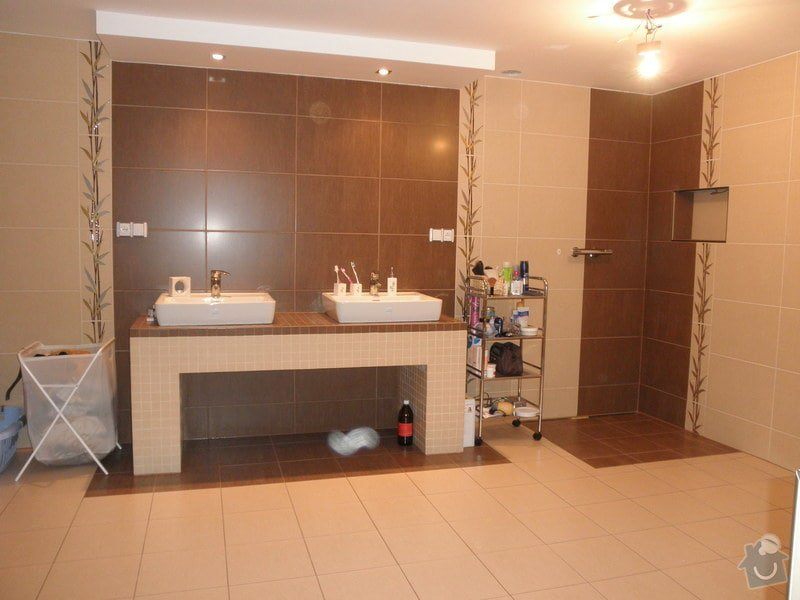 Obklad koupelny v novostavbě: P2230017