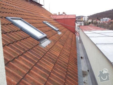 Výměna/rozšíření střešních oken: Dvojokna