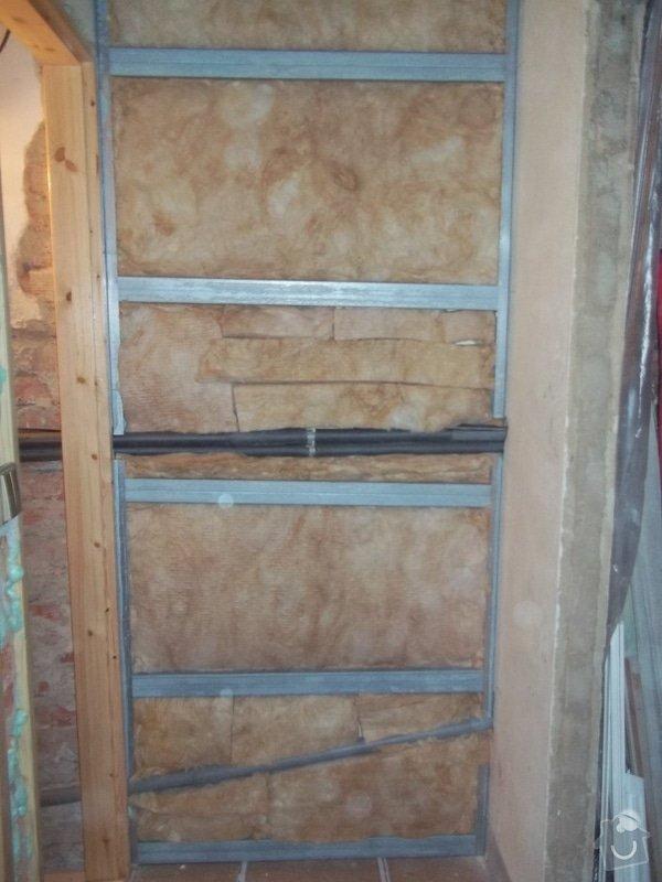 Zateplené stropy a odhlučněné předstěny: 104_1107