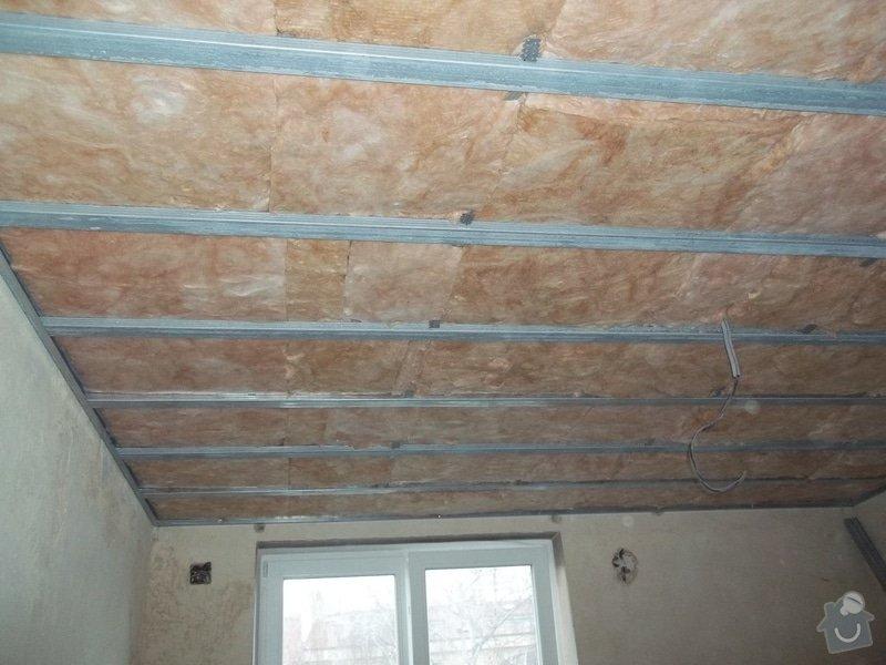 Zateplené stropy a odhlučněné předstěny: 104_1109