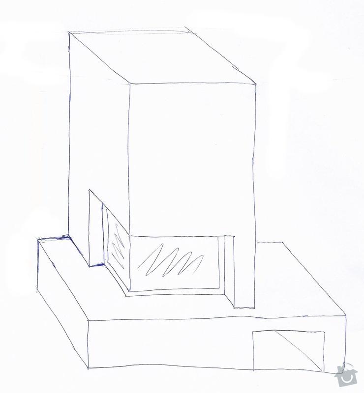 Návrh a stavba krbu - RD novostavba: krb_mullerovi