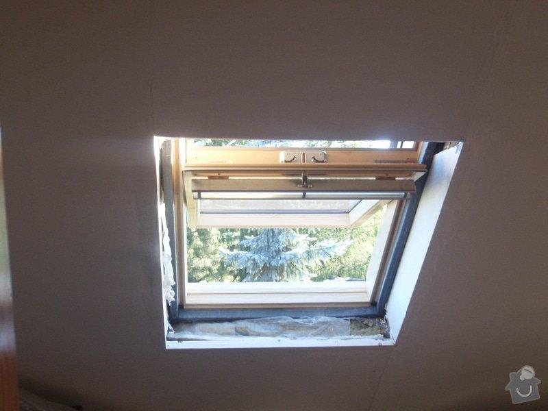 Začištění nových střešních oken: okna_001