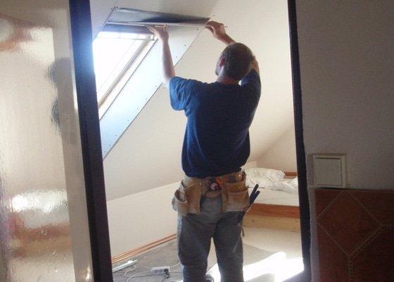 Začištění nových střešních oken