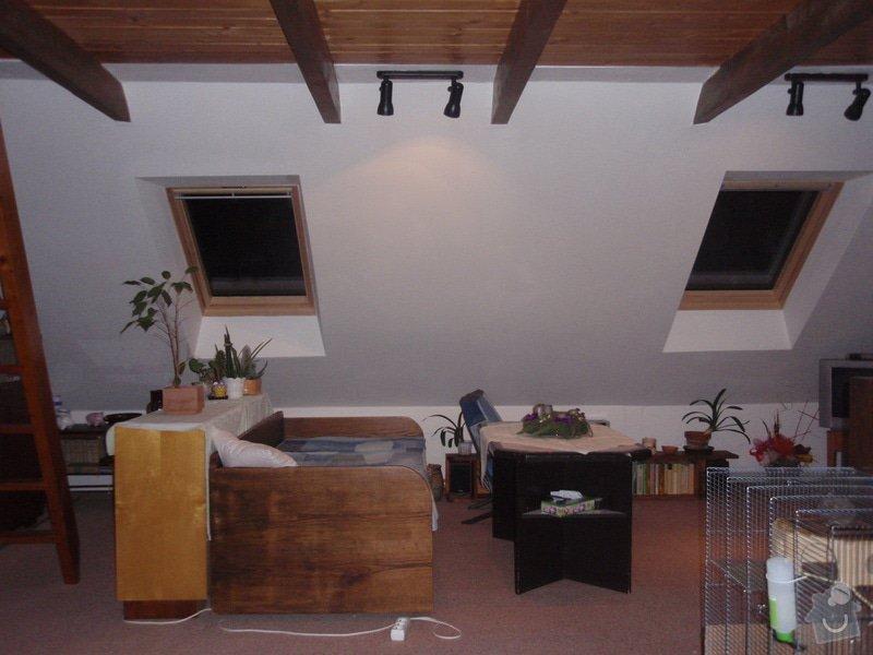 Začištění nových střešních oken: okna