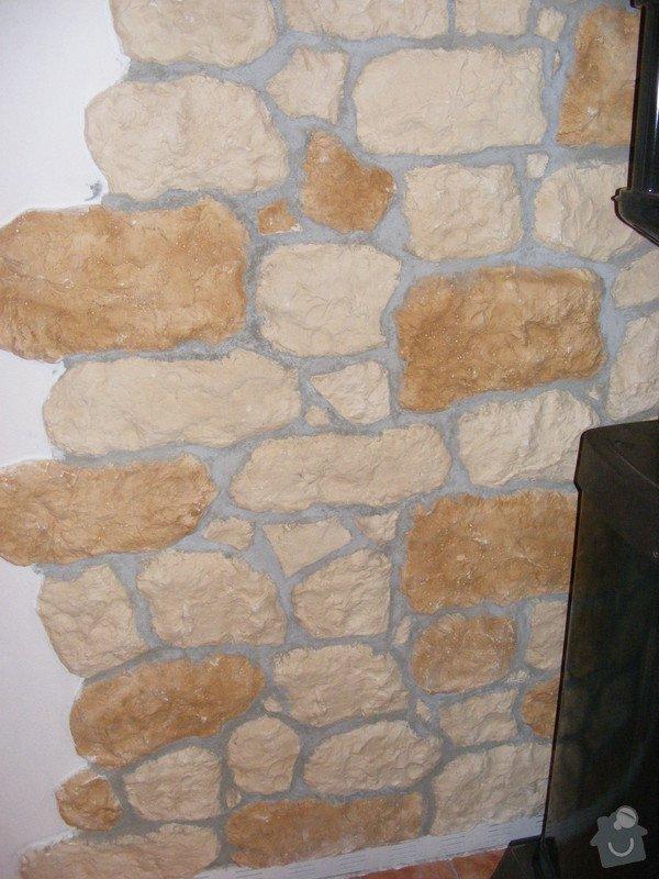 Obklady stěny pomocí kamenné dekorace, : zahrad_036