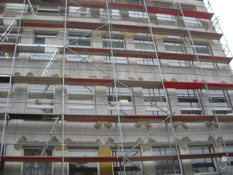 Oprava fasády Poliklinika Jirkov: DSCN2255