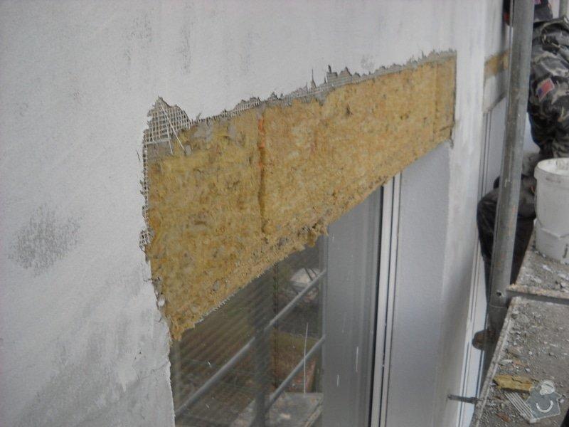 Oprava fasády Poliklinika Jirkov: DSCN2236