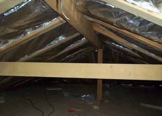 Zateplení střechy rodinného domu