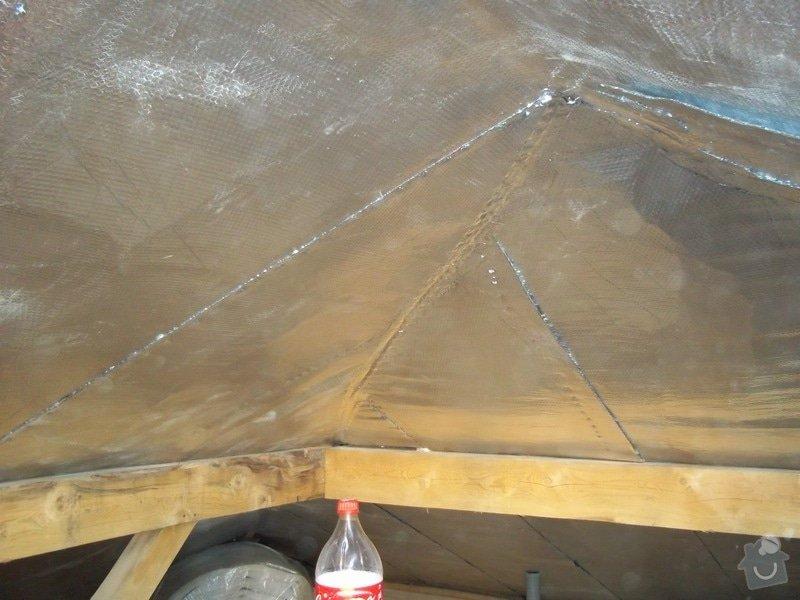 Zateplení střechy rodinného domu: 100_0705