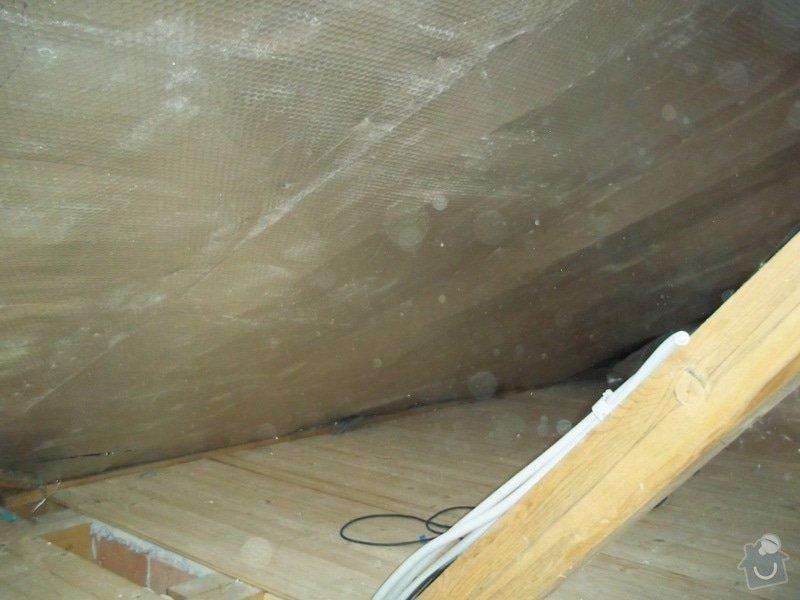 Zateplení střechy rodinného domu: 100_0706