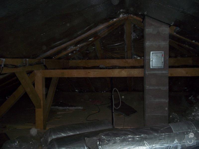 Zateplení střechy rodinného domu: 100_0708