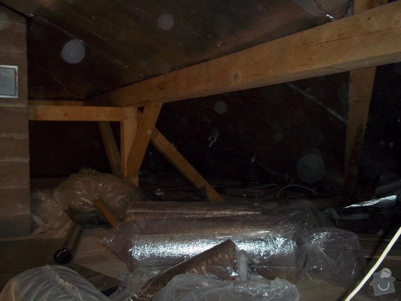 Zateplení střechy rodinného domu: 100_0710