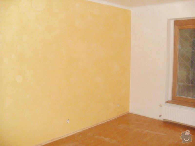 Malířské práce, 3 pokoje: P1110896