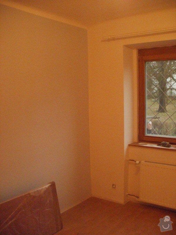 Malířské práce, 3 pokoje: P1110900