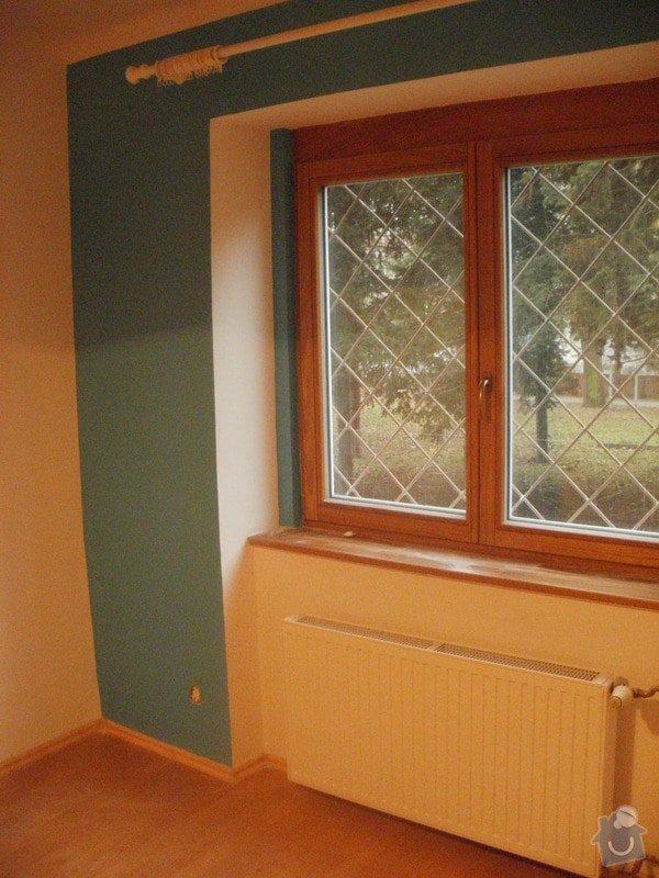 Malířské práce, 3 pokoje: P1110904
