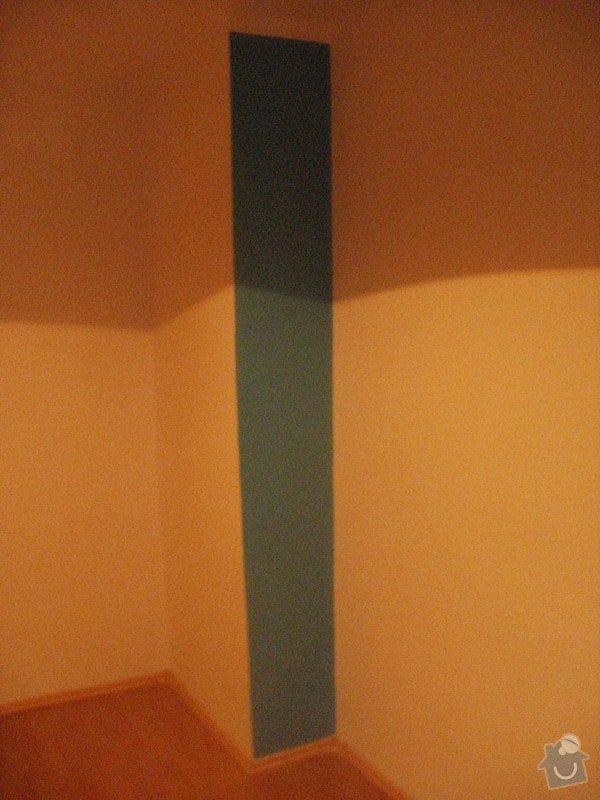Malířské práce, 3 pokoje: P1110906
