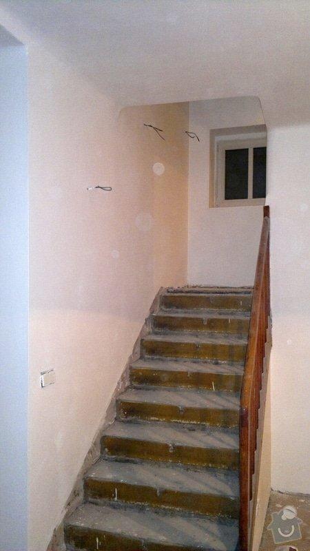 Štukování a následné vymalování rodinného domu: 130120121859