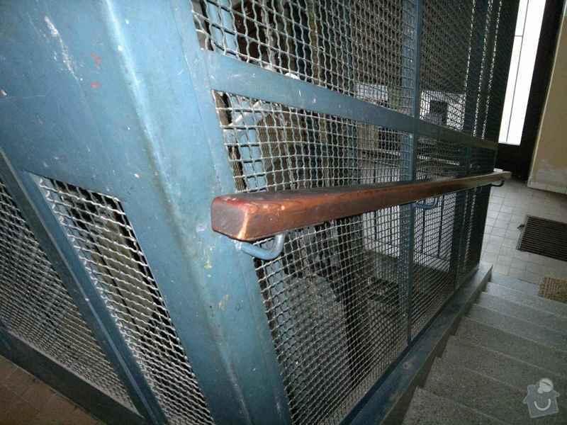 Dodávku a montáž zábradlí (schodišťová madla): 15102011267
