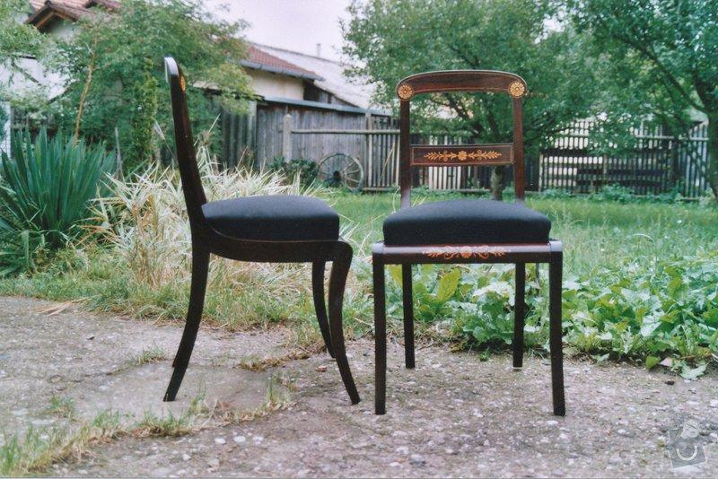 Restaurování  6ks židlí: IMG_0001