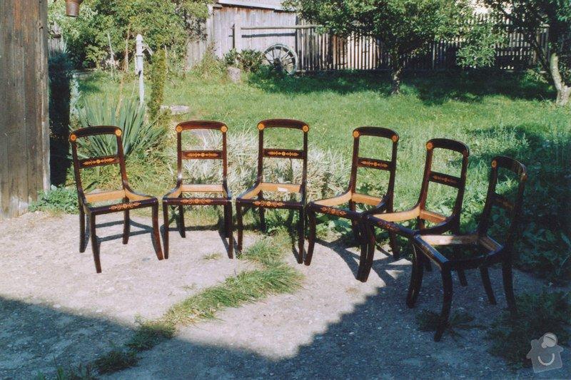 Restaurování  6ks židlí: IMG_0002