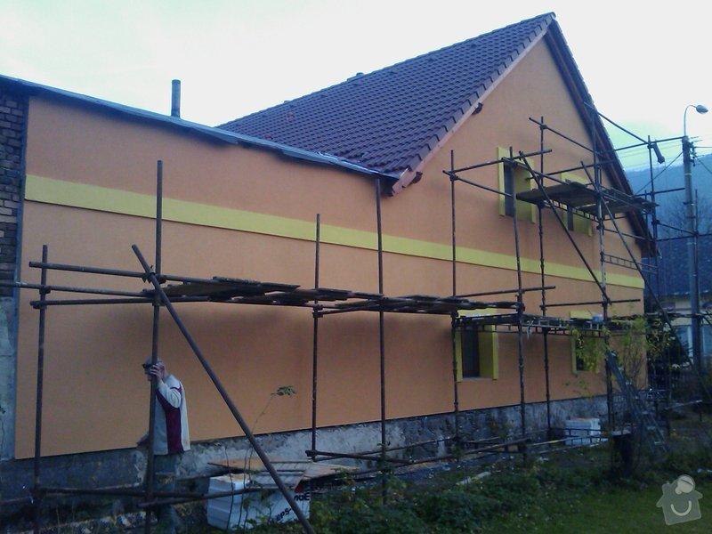 Fasáda na rodinném domě v Hejnicích: IMAG0177