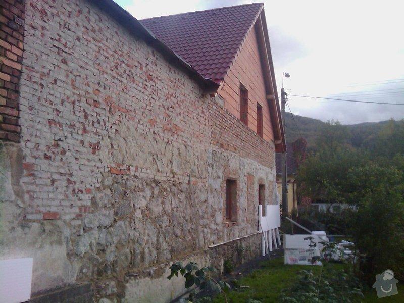 Fasáda na rodinném domě v Hejnicích: IMAG0152