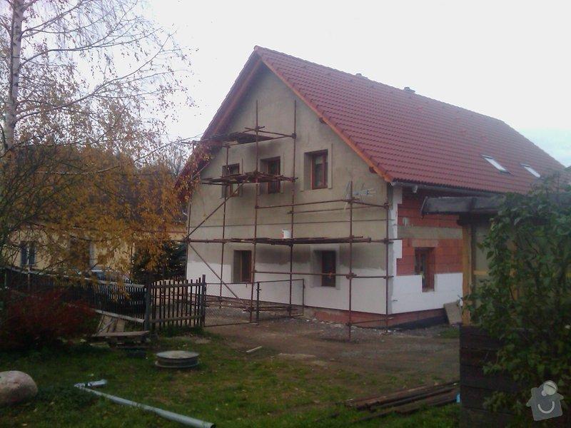 Fasáda na rodinném domě v Hejnicích: IMAG0168