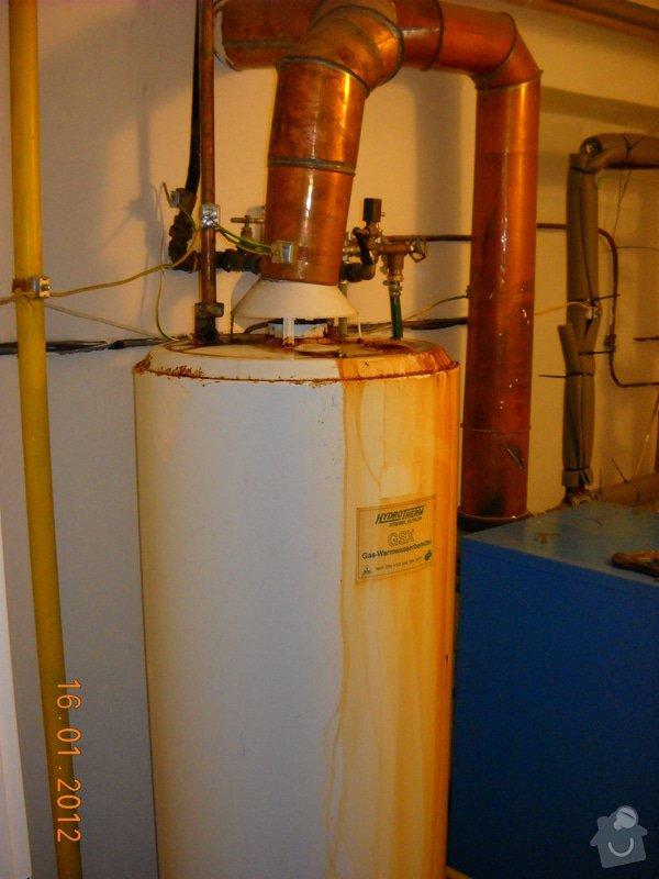 Výměna starého plynového zásobníku: DSCN0455