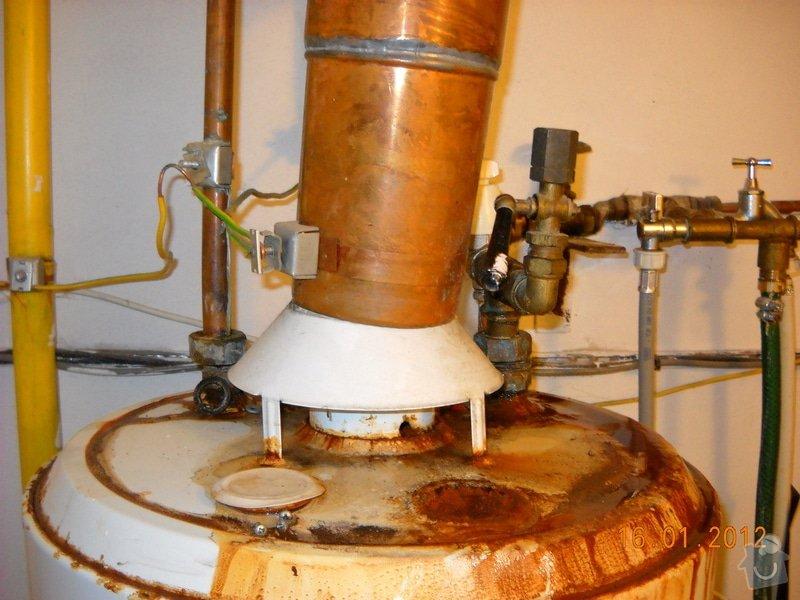 Výměna starého plynového zásobníku: DSCN0456