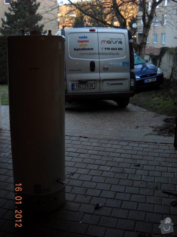 Výměna starého plynového zásobníku: DSCN0458
