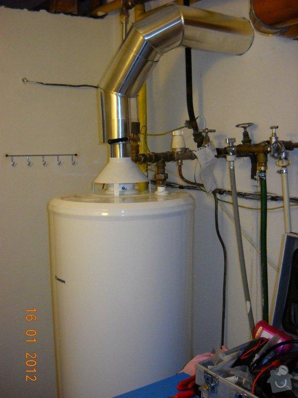 Výměna starého plynového zásobníku: DSCN0462