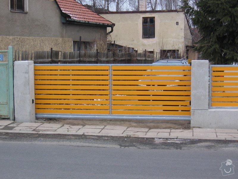 Výroba 9 ks plotových polí,branka a samonosné brány.: IMG_2694