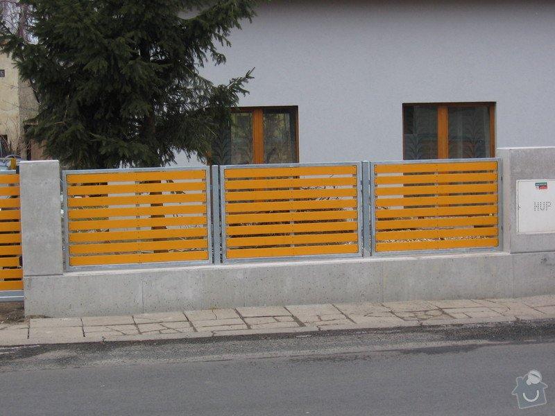 Výroba 9 ks plotových polí,branka a samonosné brány.: IMG_2695