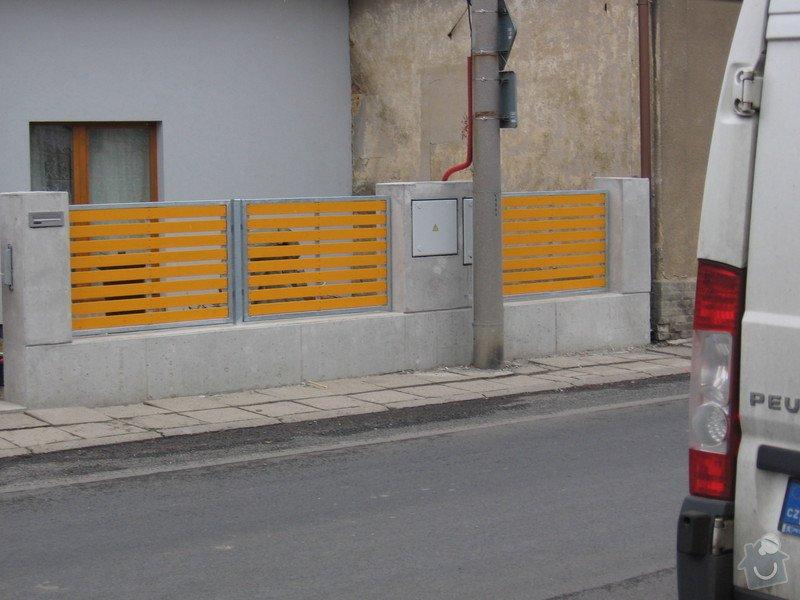 Výroba 9 ks plotových polí,branka a samonosné brány.: IMG_2696