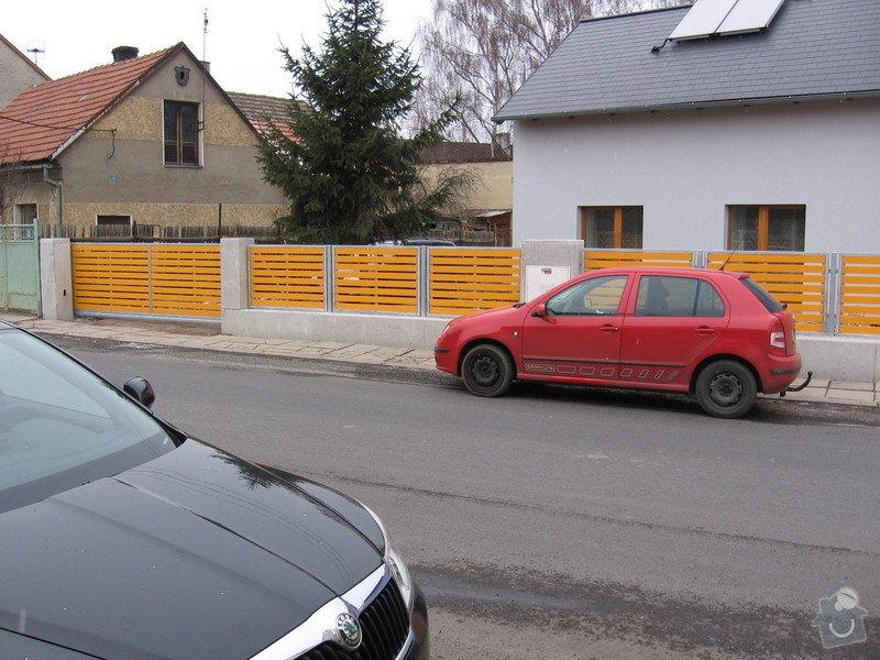 Výroba 9 ks plotových polí,branka a samonosné brány.: IMG_2697