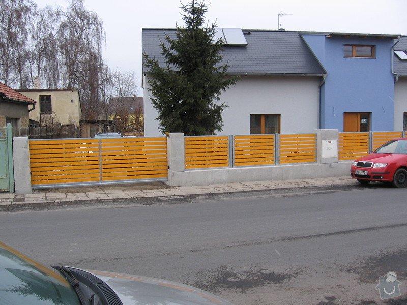 Výroba 9 ks plotových polí,branka a samonosné brány.: IMG_2699