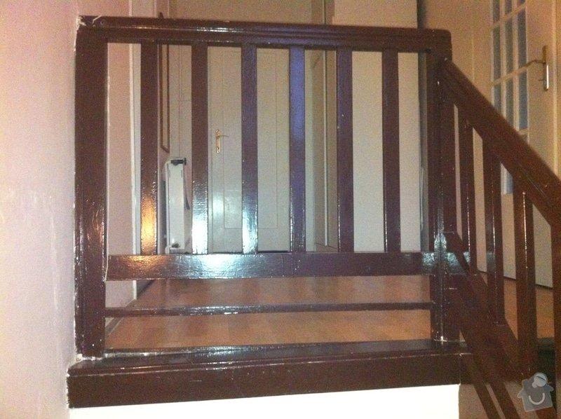 Renovace schodů a zábradlí: obrazek5a