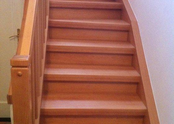 Renovace schodů a zábradlí