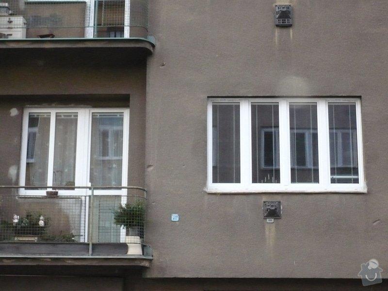 Výměna oken na činžovním domě: P1110948