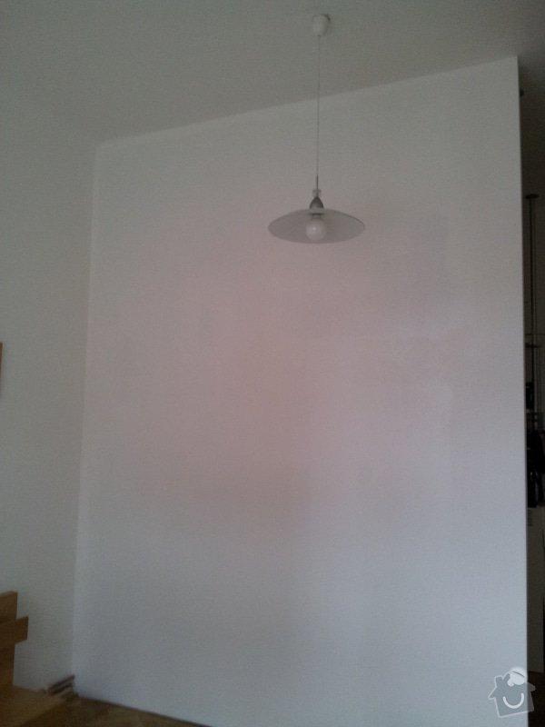 Příčka pro oddělení šatny: 20120120_140857