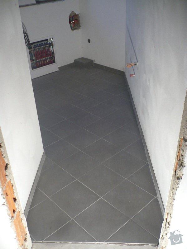 Zhotovení obkladů a dlažby: P1060410