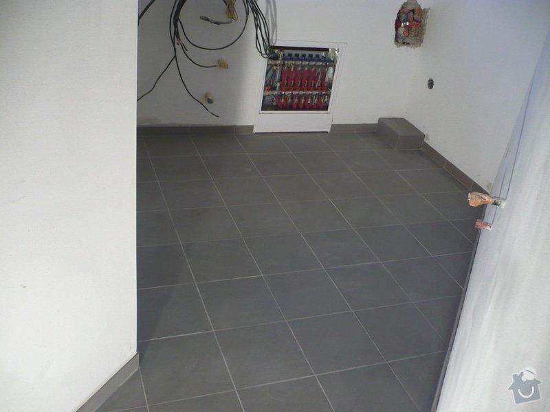 Zhotovení obkladů a dlažby: P1060411