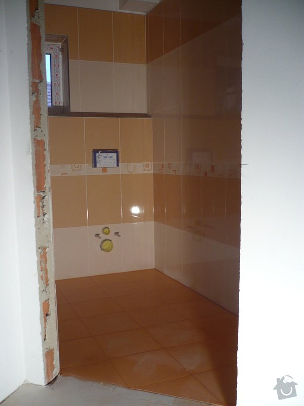 Zhotovení obkladů a dlažby: P1060412
