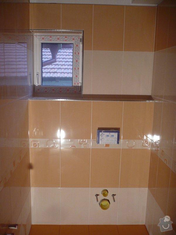 Zhotovení obkladů a dlažby: P1060414